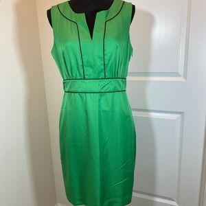 Banana Republic Split Neck Sleeveless Summer Dress